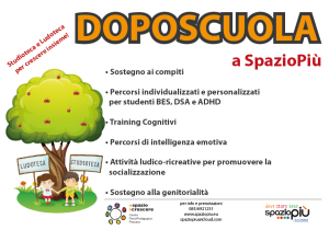 Flyer Doposcuola A4